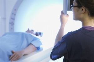 Preparing patient for a scan