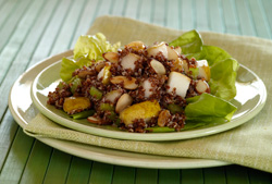 Pear and quinoa salad