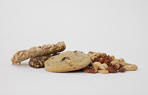 Foods containing tree nuts.