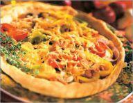 Vegetable tart