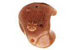 Picture of an in-the-ear hearing aid