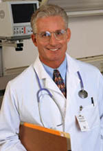 Picture of a male doctor smiling