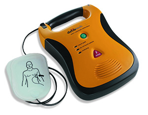 Photo of an AED