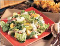 Orange-walnut salad